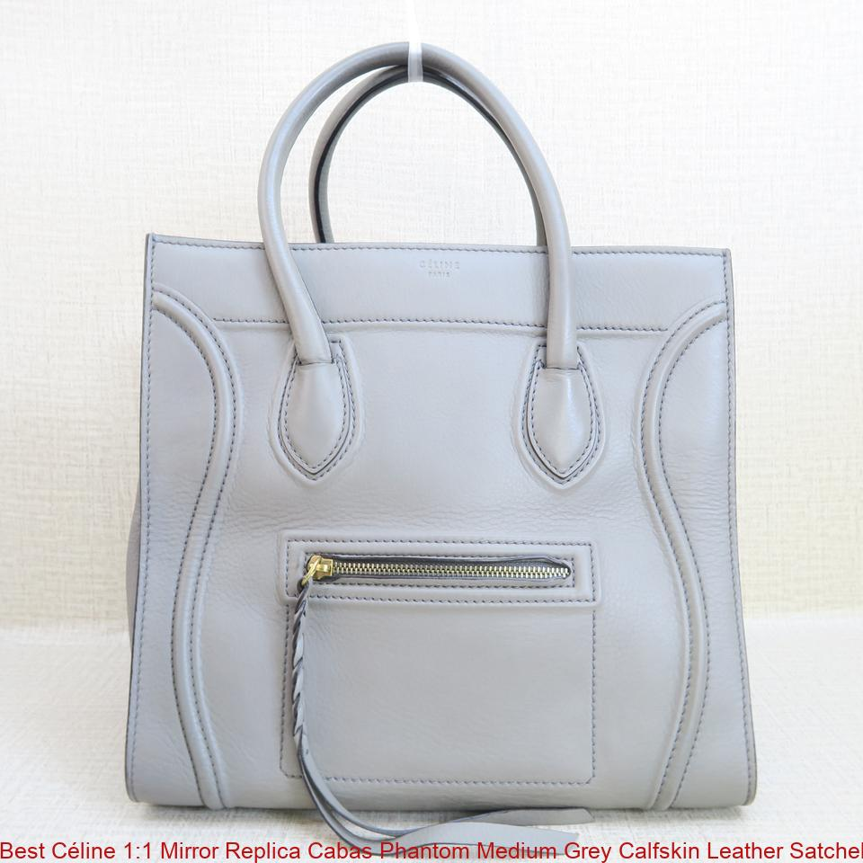 Best céline mirror replica cabas phantom medium grey calfskin leather satchel  celine replica belt bag jpg 69c01b24bc377