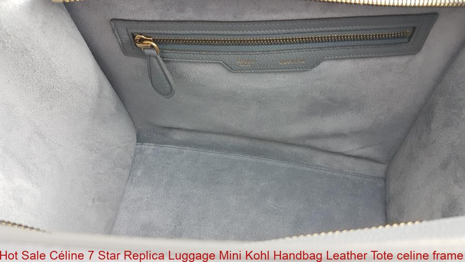fe59d6d0650 Hot Sale Céline 7 Star Replica Luggage Mini Kohl Handbag Leather Tote  celine frame – High Quality Replica Bags at Cheap Price – Luxury Fake  Handbags New ...